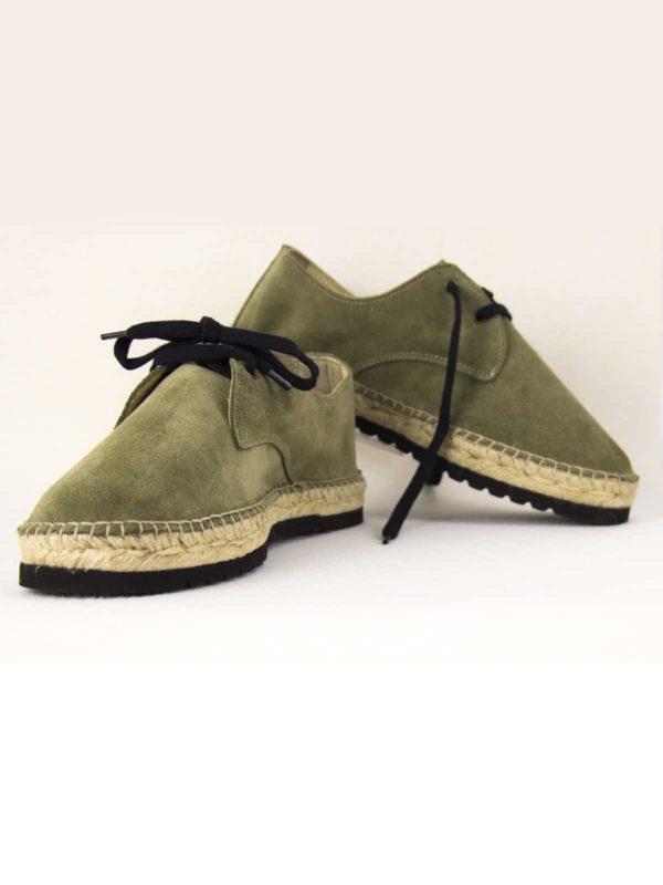 cambrils-kaki-espadrilles-hommes-fermees-lacets-espadrilles-basque-espadrille-homme-espadrilles-originales-dam-e-droles-espadrilles-cousu-main