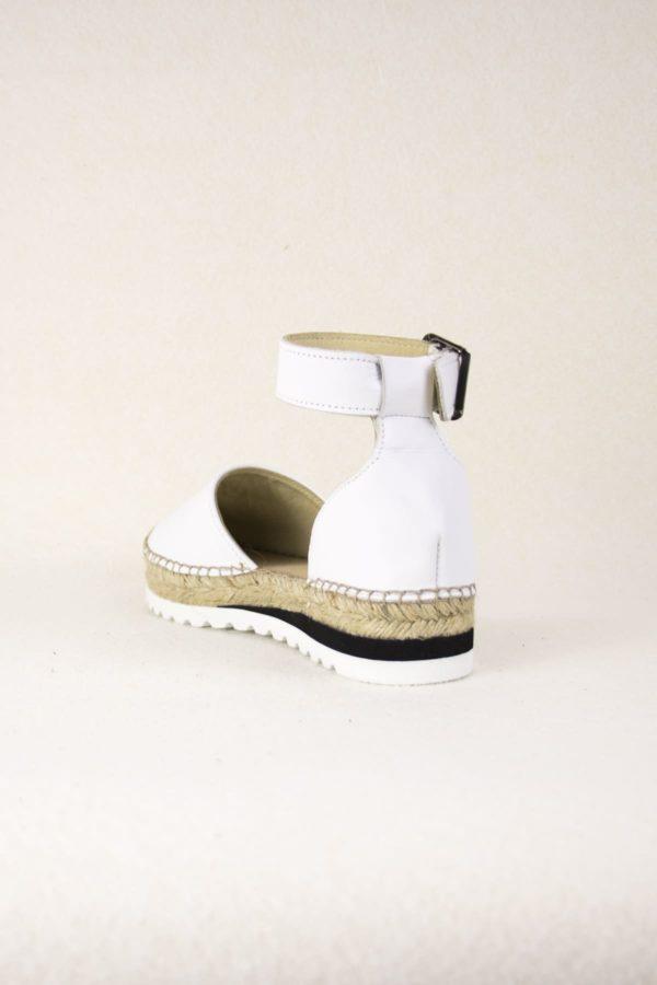 elamba-blanches-espadrilles-haut-de-gamme-cuir-lanieres-espadrilles-mode-espadrilles-basque-espadrilles-femme-espadrilles-originales-dam-e-droles