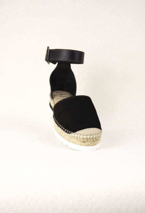 elamba-noire-espadrilles-haut-de-gamme-cuir-lanieres-espadrilles-mode-noire-espadrilles-basque-espadrilles-femme-espadrilles-originales-dam-e-droles