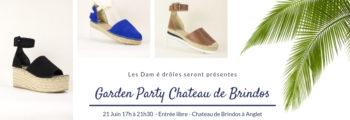 Vente d'espadrilles Dam é drôles – Garden Party Chateau de Brindos