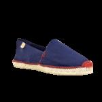 Espadrilles classiques - Bleu marine fil rouge